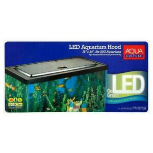 Aqua Culture 20/55 Gallon Fish Tank Hood with LED Light - NV33125