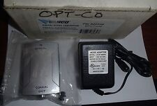 *NEW* VANCO Digital Tos-Link Optical to RCA Coax Converter w/Power Supply 820559