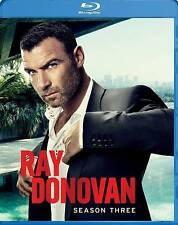 Ray Donovan: Season 3 (Blu-ray Disc, 2015, 3-Disc Set)