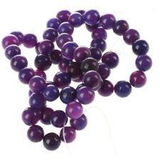 Fil Perles en Sugilite Pierre Minerale Rond 6mm Violet X7S3
