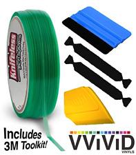 Knifeless Vinyl Wrap Cutting Tape Finishing Line 10m Plus 3m Toolkit Squeegee
