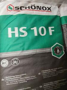 Schönox HS10F Faserverstärkte Nivelliermasse Ausgleichmasse Spachtelmasse 25kg
