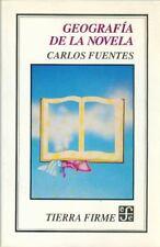 Geografia de la Novela, , Fuentes, Carlos, Fuentes Carlos, Good, 1993-01-01,