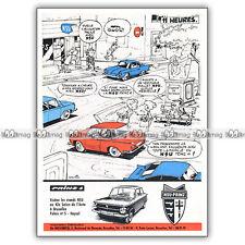 PUB NSU PRINZ 4 - Original Advert / Publicité 1963