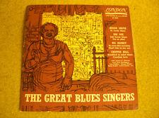 LP 10'' -25 cm THE GREAT BLUES SINGERS-Smith/Cox/Rainey... UK PRESS LONDON AL 35