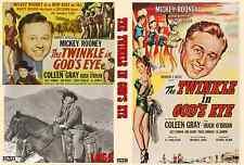 TWINKLE IN GOD'S EYE 1955 Mickey Rooney