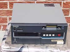 Panasonic AJ-D455P DVCPRO Editor/Recorder With Operating Instructions