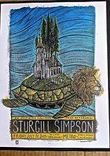 Sturgill Simpson Mini Concert Poster Reprint 2015 Chicago IL Gig 14x10