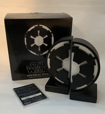 STAR WARS / Imperial Emblem Bookends / Gentle Giant / New / Limited Edition