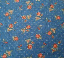 El aclaramiento Jardín Flores azules gingham Corazones De Tela De Diseño Patchwork Cuadrados