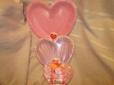 VALENTINE - HEART SHAPED PAPER PLATES AND NAPKINS & heart shaped plates | eBay
