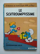 EO 1965 (vendu en l'état) - Schtroumpfs 2 (le Schtroumpfissime) - Peyo