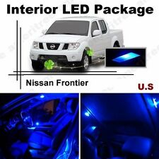 Blue LED Lights Interior Package Kit for Nissan Frontier 2005-2015 ( 6 Pieces )