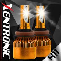 XENTRONIC H11 153000LM LED Headlight Kits Bulbs H9 H8 6000K VS HID 35W 55W Fog