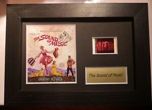 "The Sound of Music 6"" x 4"" Genuine 35mm Film Cell Display Framed/Unframed"