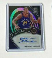 2019-20 Panini Spectra Basketball MASON PLUMLEE autograph prizm #077/149
