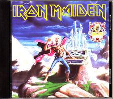 CD IRON MAIDEN running free run to the hills ITALY rare 1990 LTD COMP