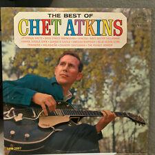 "CHET ATKINS - The Best Of (Monaural LPM 2887) - 12"" Vinyl Record LP - VG"