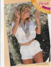 FARRAH FAWCETT RARE 8X10 CHARLIES ANGELS JAPAN PHOTO MAGAZINE #2