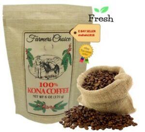 Farmers Choice 100% Kona Coffee - Fresh from Hawaii