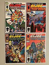 GI Joe and the Transformers set #1-4 Direct editions 8.0 VF (1987)