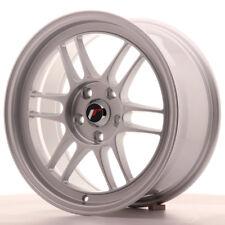"""Un Cerchio in Lega Japan Racing JR7 17"""" x 8"""" ET35 5x114.3 Argento silver"""