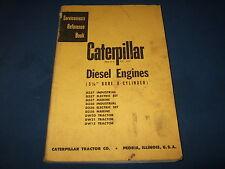 CAT CATERPILLAR 5 1/8 DW15 DW21 DW20 D337 ENGINE SHOP REPAIR REFERENCE MANUAL