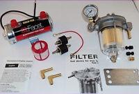 Facet RED Top Fuel Pump & Malpassi Filter King Regulator Kit 480532 - to 240bhp