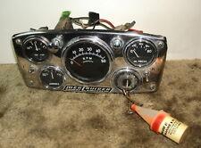 """Vntage Mercruiser """"Power Swivel"""" Instrument Cluster"""