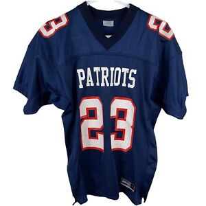 Vintage New England Patriots Mesh Field Practice Jersey #23 Youth L Boys L