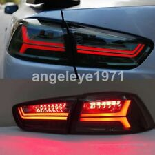2008-2013 Year For Mitsubishi Lancer Exceed LED strip taillights Smoke Black YZ