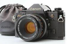 [Exc+5] Canon A-1 Black Body CANON FD 50mm F1.8 s.c. 35mm SLR FILM CAMERA 045070