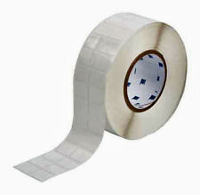 "NEW BRADY THT-88-498-5 5000 Thermal Transfer Labels Vinyl Cloth 0.75x1"" FreeShip"