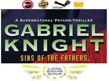Gabriel Knight: Sins of the Father PC Digital STEAM KEY - Region Free