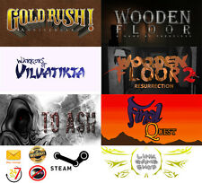 Wooden Floor+To Ash+Warriors of Vilvatikta+Final Quest+Gold PC Digital STEAM KEY