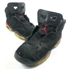 Nike Air Jordan 4 Retro (GS) Bred Big Kids Basketball Shoes 408452 060 Size 6