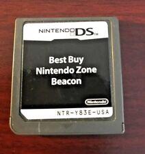 Nintendo DS - Best Buy Nintendo Zone Beacon Cartridge NTR-Y83E USA Mint Condion