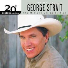 George Strait : Millennium Collection - Album CD endommagé BOÎTIER