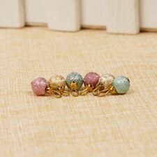 Best 6pcs 1:12 Dollhouse Miniature Christmas Tree Decoration Colorful Beads