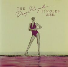 CD - Deep Purple - The Deep Purple Singles A's & B's - #A2521 - RAR
