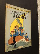 [17233-B89] BD Mitacq La Patrouille des Castors La Bouteille à la Mer EO 1959