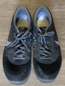 Mens Nike Sneakers, Black And Gray, Size 11