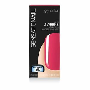 SENSATIONAIL Gel Polish, 0.25 oz, Pink Daisy