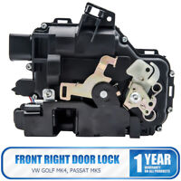 8 Pin New 97-06 Front Central Door Lock Right Side Fits VW GOLF PASSAT MK4 MK5