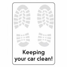 NEW  1000 - 320 x 450mm Paper Floor Mats Printed