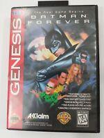 Batman Forever for Sega Genesis 1995 Acclaim Games