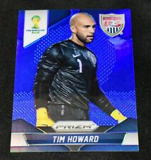 2014 Panini Prizm WC Cup #66 Tim Howard Blue Prizm /199 United States USA