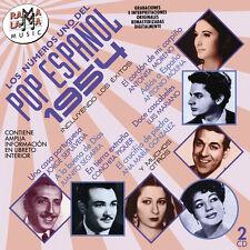 LOS Nº1 DEL POP ESPAÑOL 1954 -2CD