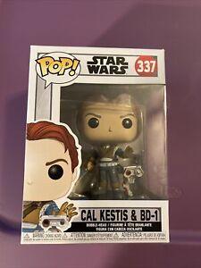Funko Pop Star Wars Jedi Fallen Order Cal Kestis & BD-1 Bobble-Head