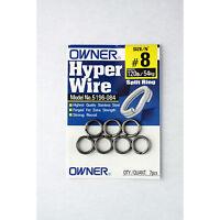 Owner Hyper Wire Super Heavy Duty Stainless Steel Split Rings